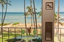 Top-of-the-line Glass sliding doors to Lanai